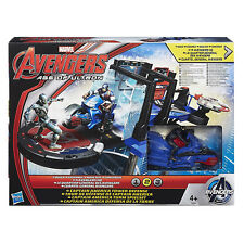 Marvel Avengers Age of Ultron Captain America Tower Defense Playset BOX DAMAGE