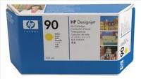 GENUINE ORIGINAL HEWLETT PACKARD HP 90 YELLOW INK CARTRIDGE 225ML C5064A