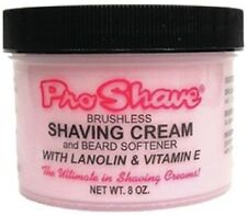 Pro-Shave Shaving Cream & Beard Softener 8 Oz, Brushless w/Lanolin & Vitamin E