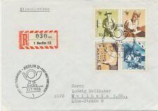 BERLIN 1969 Weltkongress des Personals der Post-, Telegrafen- u. Telefonbetriebe