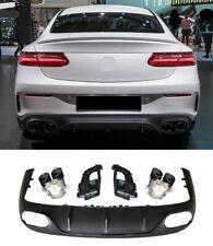 Für Mercedes Benz E-Klasse C238 Coupe A238 Cabrio Amg E63 Look Diffusor Bumper
