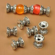 20pcs Wholesale bead cap Tibetan Silver caps Charms Spacer Beads 9.5mm C3592