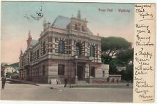 CGH: EDVII Postcard, Town Hall - Wynberg; Bungalow Club, Wynberg-S. Lowestoft