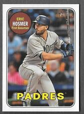ERIC HOSMER 2018 Topps Heritage High Number SP ACTION Photo Variation 709 PADRES