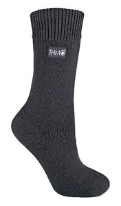 THMO - 1 Pair Womens Thick Winter Soft Top Colorful Thermal Crew Socks