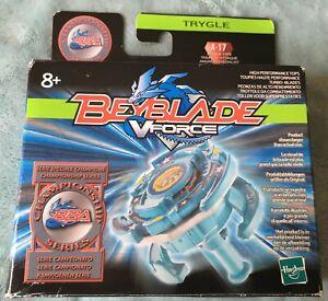 Beyblade Hasbro Trygle A-17 BBA Championship Blue V-Force (Read Description)
