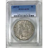 1897 O Morgan Dollar PCGS AU53 *Rev Tye's* #7556110
