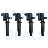 New Premium High Performance Ignition Coil Set (4) For Ford Mazda Mercury 03-13