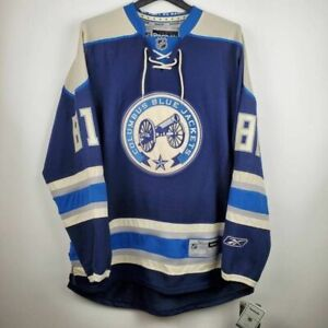 Columbus Blue Jackets Reebok Mens Jersey Long Sleeves Potchernick 81 XL New