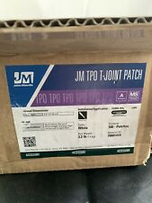 JOHNS MANVILLE 70001419 TPO WHITE T-JOINT PATCH 100 PACK