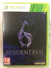 RESIDENT EVIL 6  XBOX 360 - PAL - Manuale in Italiano