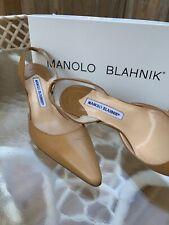 Manolo Blahnik 38 nude pump (size 8) excellent condition. See photos
