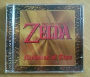 The Legend of Zelda - Melodies of Time Soundtrack CD - Official - Promo Merch