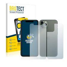 Carro Armato Protezione Pellicola In Vetro Apple iPhone 11 Pro (FRONTE + RETRO) OPACA