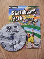Idée cadeau - Jeu PC/CD Rom Skateboard Park Tycoon Back in the USA 2004 BE