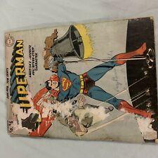 New ListingSuperman #26 Golden Age Pre Code Dc Comics 1944 Classic Wwii Cover