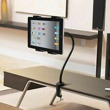 360° Gooseneck Table Desk Bed Wall Mount Stand Holder For iPad Samsung Tablet PC