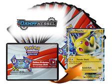 x10 Dampfkessel Pokemon TCGO OnLine Code Karten + 1 Bonus Pikachu EX XY174 Code