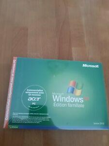 Microsoft Windows XP Edition familiale