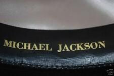 Michael Jackson Premiere White Fedora Hat With Name
