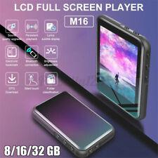 US 32GB bluetooth MP3 MP4 Player Media LCD Full Screen HIFI Radio Music