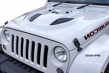 Jeep Wrangler JK Power Dome Style Hood 2007-2017 10th Anniversary
