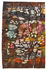 ABSTRACT COULOIR Tapestry / Wall Hanging Vintage 1970s Polish Folk Art Textile