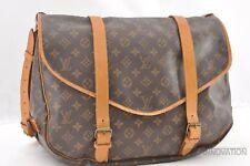 Authentic Louis Vuitton Monogram Saumur 43 Shoulder Bag M42252 LV 39181