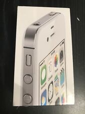 BRAND NEW APPLE IPHONE 4S WHITE 8GB SEALED VERIZON WIRELESS GREAT COLLECTION.