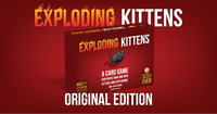 Exploding Kittens Card Game - Original Edition Factory Sealed.