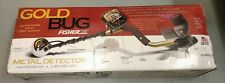 "Fisher Gold Bug Metal Detector w/ 5"" DD Double-D Search Coil Open Box Discount!"