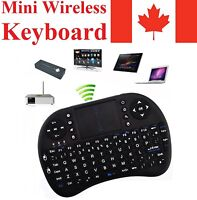 Mini Wireless Keyboard Remote + Mouse Touch Pad for Android TV Box Computer PS4