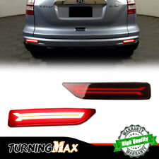 For Honda Mobilio City CR-V BR-V Red LED Brake Tail Lights Rear Bumper Foglights