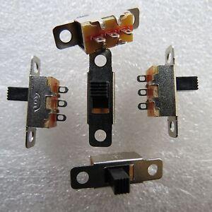 5x 2-stellig Mini Schiebeschalter SPDT 1 UM Umschalter EIN EIN 300mA 5V Mikro