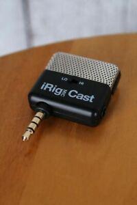 IK Multimedia iRig Mic Cast Portable Recording Microphone Smart Phones & Tablets