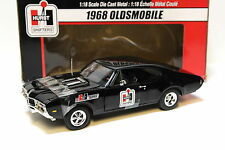 1:18 ertl oldsmobile 1968 * Hurst racing * Black New en Premium-modelcars
