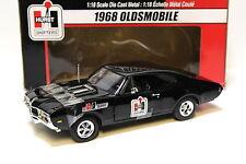1:18 ERTL Oldsmobile 1968 *HURST RACING* black NEW bei PREMIUM-MODELCARS