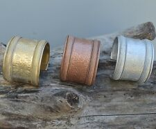 Silver,brass copper finish, Metal, Adjustable , Cuff Fashion Bracelet