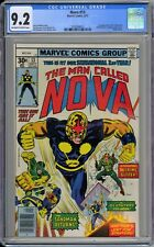 Nova #13 CGC 9.2 NM- OwWp 1st Crime-Buster Appearance Key Marvel Comics 1977