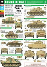 Bison Decals 1/35 German Tanks in Italy #1 35066