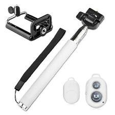 Palo Selfies Monopie telescópico Bluetooth Inalámbrico Mando para Iphone 5 6