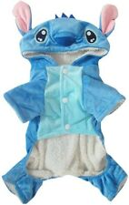 Pet Dog Stitch Costume Halloween Christmas Winter Dog Clothes Dog Hoodie SIZE SM
