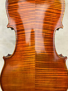 Amazing, ITALIAN old, antique 4/4 labelled MASTER violin - READY TO PLAY!
