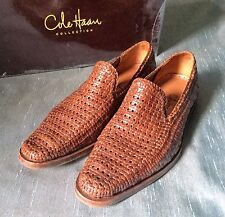Cole Haan Collection Lisbon SlipOn hand braided woven leather india 8M