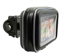 """GN032+SPH+WPCS-5D: Motorcycle Mount & Case for 5"""" Garmin Nuvi, TomTom GPS"""