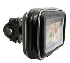 "GN032+SPH+WPCS-5D: Motorcycle Mount & Case for 5"" Garmin Nuvi, TomTom GPS"