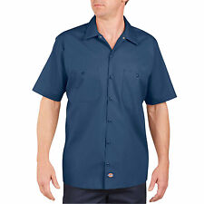 DICKIES Mens Short Sleeve Work Shirt CLASSIC All Colors Workwear Uniform New!