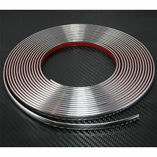 12mm x 2m CHROME CAR STYLING MOULDING STRIP TRIM ADHESIVE