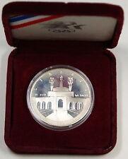 1984-S Proof Olympic Silver Dollar, In Box No COA, Commemorative Coin