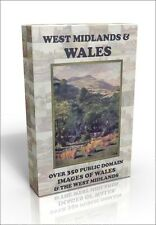 West Midlands & Wales inc Shakespeare country - 350 public domain pics on DVD